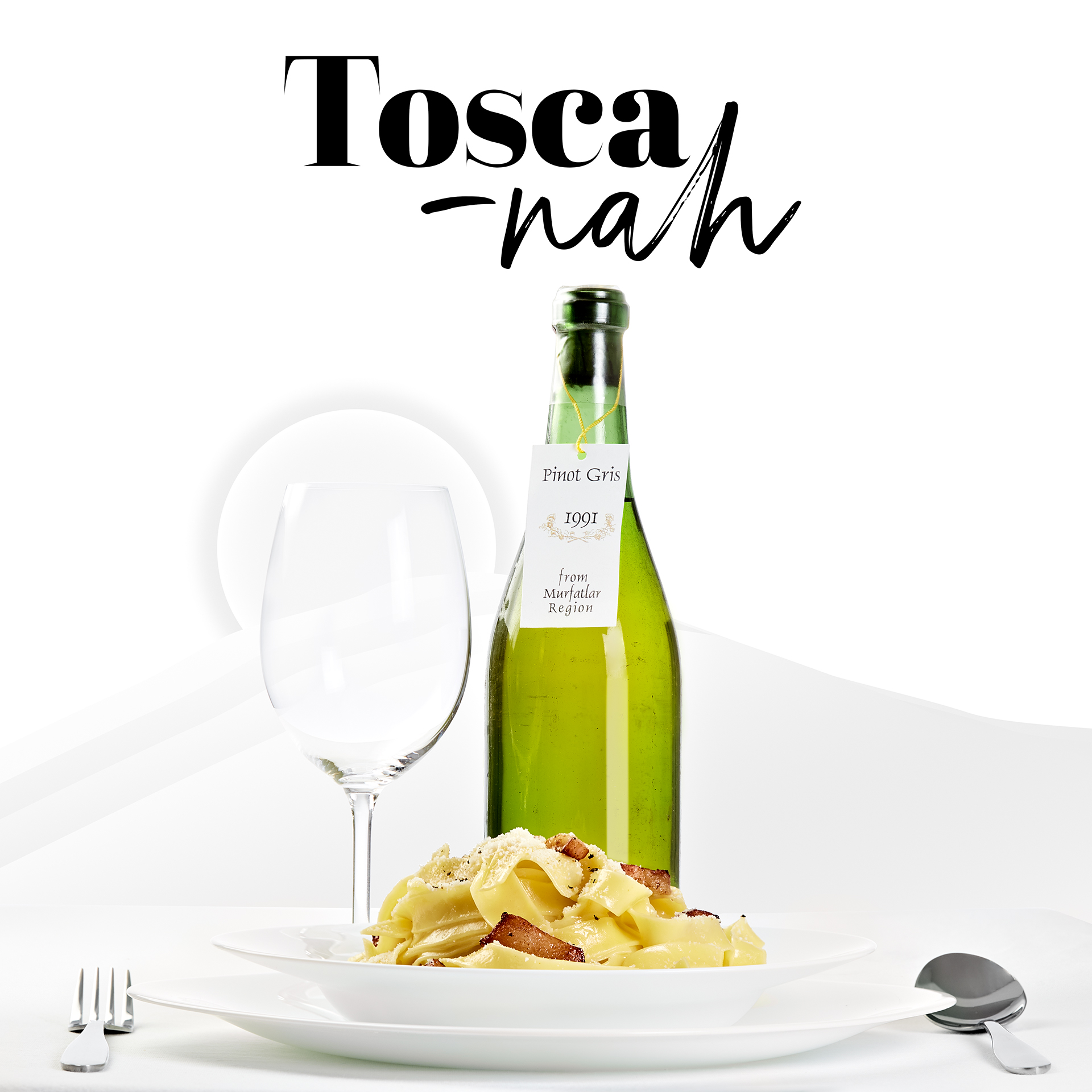 advertorial-concept-food-and-drinks-pasta-and-wine-tosca